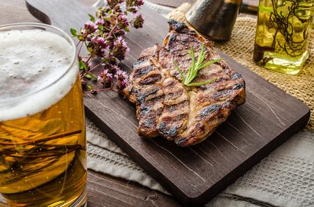 carne e birra